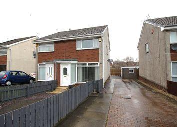 Thumbnail 2 bed semi-detached house for sale in Glenburn Gardens, Whitburn
