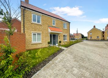 Thumbnail 4 bed detached house for sale in Magdalene Close, South Marston, Swindon
