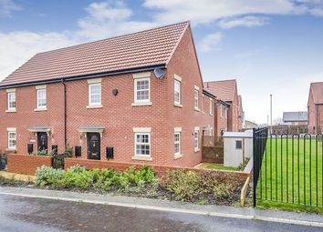 Thumbnail 2 bed semi-detached house for sale in Stoborough Crescent, Featherstone, Pontefract