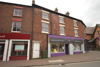 Thumbnail 2 bed flat to rent in Hightown, Sandbach