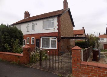 Thumbnail 2 bed semi-detached house for sale in Edgeworth Drive, Fallowfield, Manchester