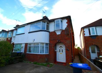 Thumbnail 3 bedroom flat to rent in Ham Road, Worthing