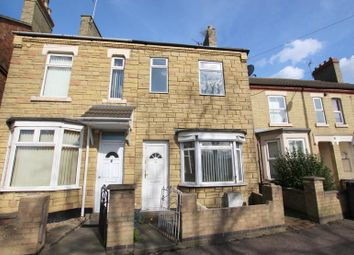 Thumbnail 3 bedroom terraced house to rent in Crawthorne Road, Peterborough