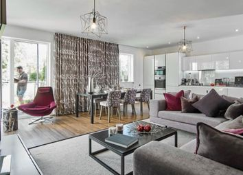 Thumbnail 2 bed flat for sale in The Visari Building At Aura, Long Road, Cambridge