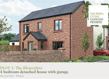 Thumbnail 4 bed detached house for sale in Plot 1 Squirrel Close, Yanwath, Penrith