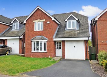 Thumbnail 4 bedroom property for sale in Wrens Croft, Cannock