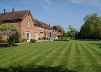 Thumbnail 5 bed barn conversion for sale in Byley Lane, Middlewich