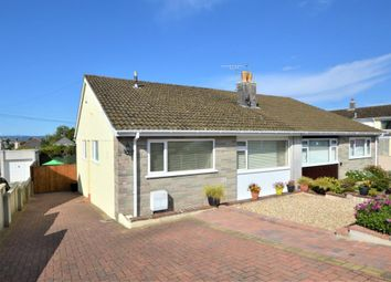 Thumbnail 3 bed semi-detached bungalow for sale in Parkesway, Saltash, Cornwall