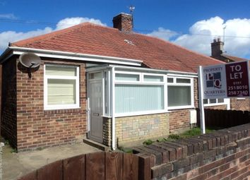 Thumbnail 2 bed bungalow to rent in Plessey Road, Blyth