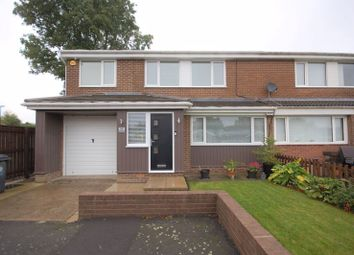 Thumbnail 4 bed semi-detached house for sale in Ashkirk, Dudley, Cramlington