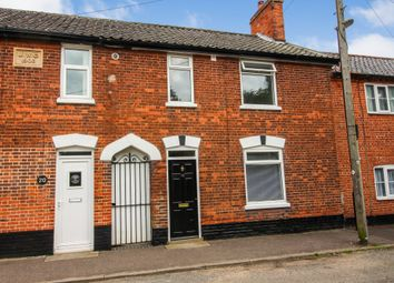 Thumbnail 3 bed terraced house to rent in Langley Road, Chedgrave, Norwich