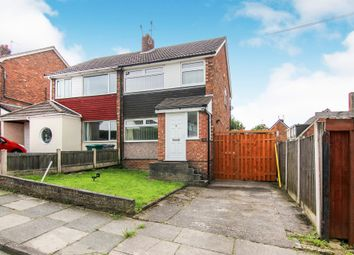 Thumbnail 3 bedroom semi-detached house for sale in Pleasington Drive, Prenton