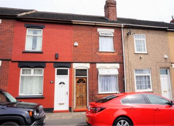 Thumbnail 2 bed terraced house for sale in Brocksford Street, Stoke-On-Trent