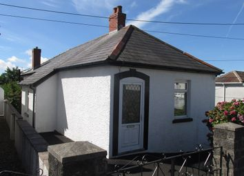 Thumbnail 2 bed detached bungalow for sale in Oakfield Street, Pontarddulais, Swansea