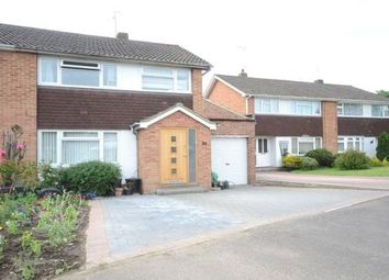 Thumbnail 3 bedroom semi-detached house for sale in Nightingale Road, Woodley, Reading