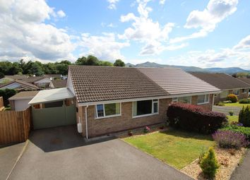 Thumbnail 2 bedroom semi-detached bungalow for sale in Beech Grove, Brecon
