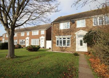 Thumbnail 3 bed semi-detached house for sale in Singleton Crescent, Goring-By-Sea, Worthing, West Sussex