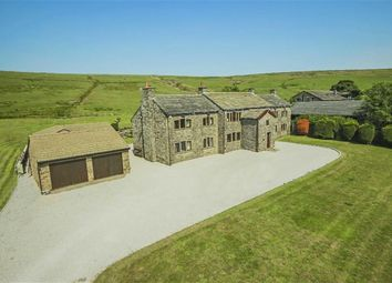 Thumbnail 5 bed farmhouse for sale in Shawclough Road, Waterfoot, Rossendale