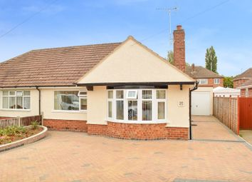 Thumbnail 2 bed bungalow for sale in Cheddar Road, Wigston, Leicester