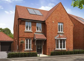 """Thumbnail 4 bedroom detached house for sale in """"Bradbury"""" at Mill Lane, Horsford, Norwich"""