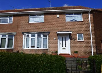 Thumbnail 3 bedroom semi-detached house for sale in Bosworth Gardens, North Heaton, Newcastle Upon Tyne