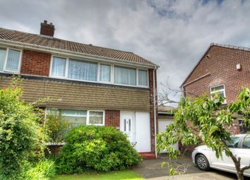 Thumbnail 3 bed semi-detached house for sale in Ashdale Crescent, Chapel House, Newcastle Upon Tyne