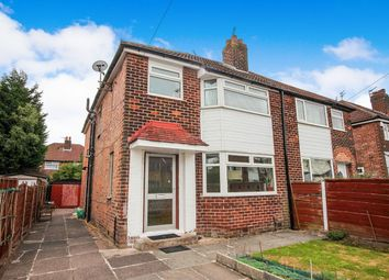 Thumbnail 4 bed semi-detached house for sale in Riverton Road, Didsbury, Manchester