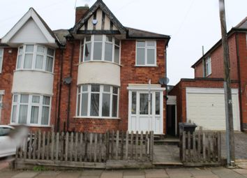 Thumbnail 3 bed semi-detached house for sale in Gwendolen Road, North Evington, Leicester