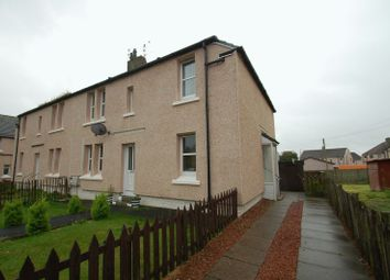 Thumbnail 2 bed flat for sale in St. Leonards Road, Lanark