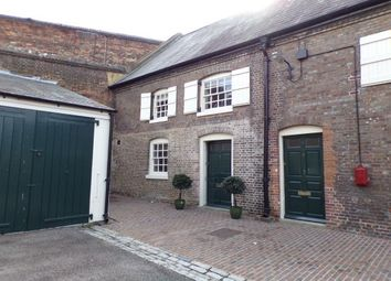 Thumbnail 2 bed end terrace house to rent in South Stables, Historic Dockyard, Chatham