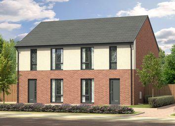Thumbnail 3 bedroom semi-detached house for sale in St Paul's Place, Doddington Drive, Cramlington