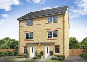 "Thumbnail 4 bedroom semi-detached house for sale in ""Haversham"" at Mount Street, Barrowby Road, Grantham"