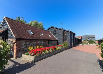 Thumbnail 4 bed barn conversion for sale in Chattisham, Ipswich