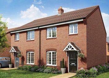 """Thumbnail 3 bed semi-detached house for sale in """"Flatford"""" at Dark Lane, Broseley"""