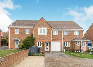 Thumbnail 3 bed semi-detached house for sale in Jutland Crescent, Andover