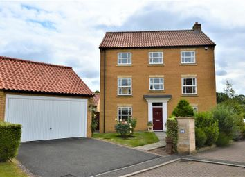 Thumbnail 5 bed detached house for sale in Gwash Close, Ryhall, Stamford