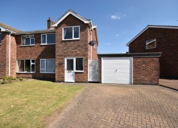 Thumbnail 3 bed semi-detached house to rent in Sandringham Drive, Loughborough