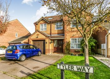 Thumbnail 6 bed detached house for sale in Tyler Way, Thrapston, Kettering