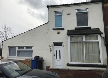 Thumbnail 6 bed terraced house for sale in Edge Lane, Manchester
