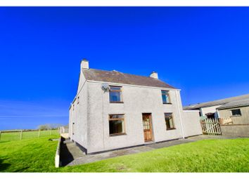 Thumbnail 5 bed farmhouse for sale in Bodedern, Holyhead