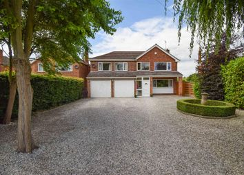Thumbnail 4 bed detached house for sale in Manor Close, Bleasby, Nottingham