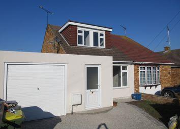 Thumbnail 3 bed semi-detached house to rent in Thorpedene Avenue, Hullbridge, Hockley
