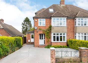 Thumbnail 4 bed semi-detached house for sale in Montgomery Road, Newbury