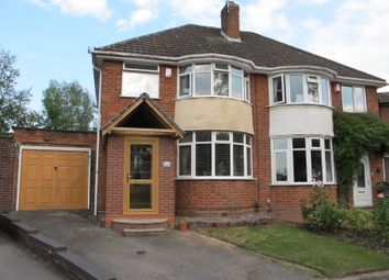 Thumbnail 3 bed semi-detached house for sale in Streamside Way, Solihull