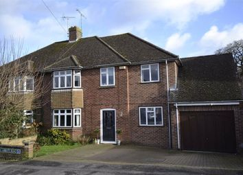 Thumbnail 4 bed semi-detached house for sale in Abbots Road, Newbury, Berkshire