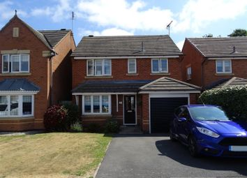 Thumbnail 3 bed detached house for sale in Hampton Close, Coalville, Leicestershire