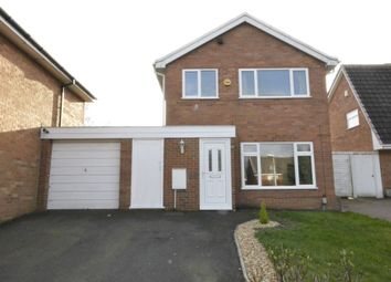 Thumbnail 3 bedroom detached house for sale in Stowe Close, Stirchley, Telford