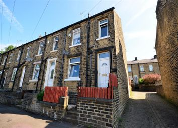 Thumbnail 2 bed end terrace house for sale in Woodside Crescent, Halifax