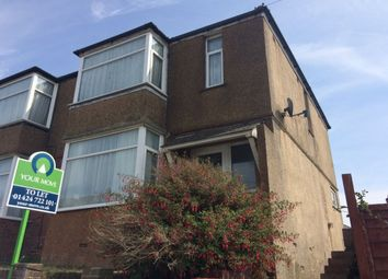 Thumbnail 3 bed semi-detached house to rent in Frederick Road, Hastings