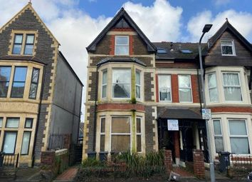 Thumbnail 1 bed flat for sale in Connaught Road, Cardiff, Caerdydd